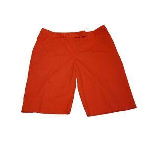 JONES NEW YORK Stretch Bermuda Shorts